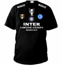 T-SHIRT INTER CHAMPIONS LEAGUE SCUDETTO COPPA MAGLIA felpa madrid triplete polo