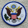 """UNITED STATES OF AMERICA PATCH Seal 3.5"""" 9cm Badge/Emblem/Insignia USA US"""