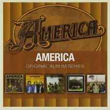 AMERICA Original Album Series 5CD NEW ST/Homecoming/Hat Trick/Holiday/Hearts
