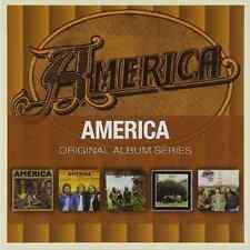 AMERICA Original Album Series 5CD NEW ST/Homecoming/Hat Trick/Holiday/Hearts