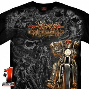 2019 Sturgis Motorcycle Rally Outlaw Wild West T-Shirt Shirt