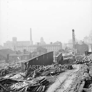 M-696 60x60mm Railway Negative MSJ&A lines bridge removal Manchester London Road