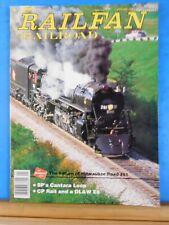 Railfan & Railroad Magazine 1994 January SP's Cantara Loop Milw Rd #261