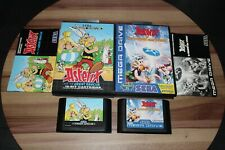MEGADRIVE (PAL) : ASTERIX and the GREAT RESCUE + ASTERIX et le POUVOIR des DIEUX