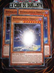 YU-GI-OH! COM HYDRALANDER ORBITAL X3 (PLAYSET) COTD-FR035 NEUF EDITION 1