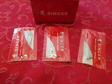 30 Singer Needles 15, 66,99,99k,600,700,7463,7467 11,14,16