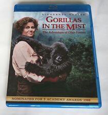 Gorillas in the Mist (Blu-ray Disc, 2014) SIGOURNEY WEAVER *1988*