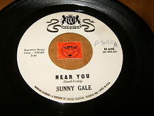 SUNNY GALE - NEAR YOU - PLEASE DON'T TELL HIM /  LISTEN - GIRL POPCORN