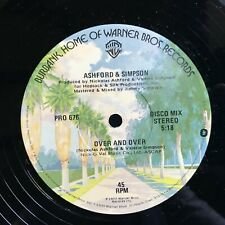"Ashford & Simpson-Over And Over-12"" Single-1977 Warner Bros PROMO- PLAYED ONCE"