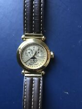 Philippe Charriol Moonphase Chronograph Christopher Columbus 1992 Watch