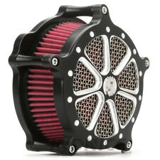 For Harley Deep Cut Air Intake Filter Sportster XL 883 1200 48 72 1991-2014