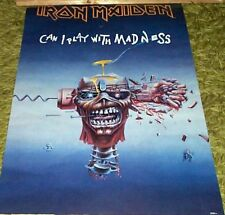 Iron Maiden ORIGINAL VINTAGE Can I Play With Madness Poster Print