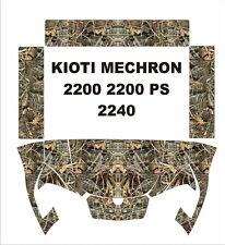 KIOTI MECHRON camo graphics wrap DECALS camouflage UTV SIDE X 200 PS 2240 kit 5