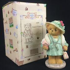 New Vtg Enesco Cherished Teddies Figurine Eleanor P. Beary Ct971 Membears Only