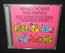 Kids Stories and Songs Counter Gender Bias: FREE TO BE YOU AND ME, New-Sealed CD