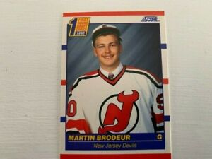 Score Hockey 1990 Martin Brodeur #439 Rookie (American)