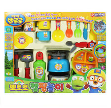 Pororo Camping Play Toys Outdoor Burner, Coppell, Tableware Children Kids Gift