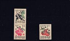 SWEDEN - SG1790-1792 MNH 1995 BERRIES