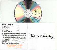 ROISIN MURPHY Overpowered Album Sampler UK 6-tk watermarked promo test CD