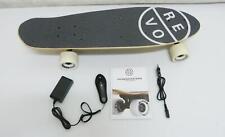 REVOE  EVO Elektro Skateboard Komplettboard E Street Board Schwarz B9