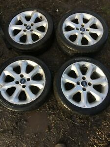 Ford fiesta 2002/2017 SET OF ALLOY WHEELS AND TYRES R16