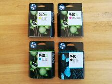 HP 940 complete set of ink cartridges
