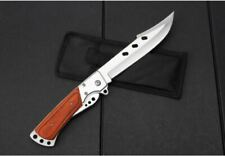 Outdoor Large Folding Knife Camping Fishing  Pocket hunting Knife AU Stock