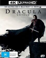 Dracula Untold 4K Blu-Ray + UHD + UV : NEW 4K Ultra HD