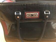 brighton dog carrier purse tote