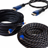 HDMI Premium Cable 3ft 6ft 10ft 15ft 20ft 25ft 30ft 50ft PS3 HDTV XBOX Gold Lot
