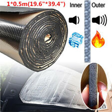 "19.6""*39.4"" Car Auto Sound Insulation Sound Proofing Heat Deadener Foam Mat 10mm"