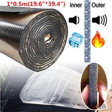 "19.6""*39.4"" Car Auto Sound Insulation Sound Proofing Heat Deadener Foam Mat 10mm"