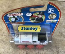 Learning Curve Wooden Thomas Train RFID Talking Railway Stanley!Gold Magnets!New