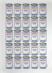 Banksy Soup Can Poster - Tesco Value Print - POW Pictures On Walls