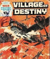 A Fleetway War Picture Library Pocket Comic Book Magazine #1226 VILLAGE OF DESTI