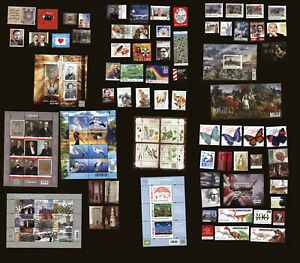Poland 2020 - mint MNH - complete year set of 61 stamps + 9 blocks FULL ALL
