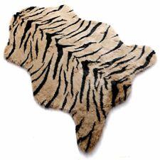 "Faux Fur Tiger Print Rug Animal Skin Cow Hide Soft Mat  Area Rugs Carpet 40""x59"""