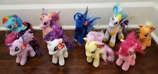 "TY My Little Pony ""Sparkle"" Beanie Babies Collection Lot"