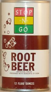 Stop-N-Go Root Beer PT Can