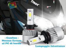 LAMPADE 1 PEZZO H4 + 1 PEZZO H7 CREE LED ISTANTANEO Yamaha T-MAX 2009+ 6000K