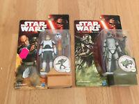 Star Wars Figure Captain Phasma & Rex The Force Awakens 3.75 Moc Sealed