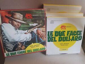LE DUE FACCE DEL DOLLARO spaghetti western ITALIA 1967 Ed. AVO film SUPER 8 1974