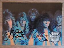 Vice original handsignierte Autogrammkarte! Musik