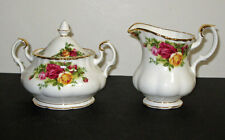 Royal Albert Old Country Roses Covered SUGAR & CREAMER   NEW