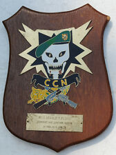 Wartime Command and Control North (CCN) Plaque MAC V SOG Award