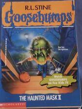 GOOSEBUMPS original series chapter book RL4  #36 THE HAUNTED MASK II