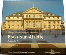 5,88 Euro Luxemburg KMS Kursmünzensatz Kursmünzsatz st 2017  Esch- zur- Alzette