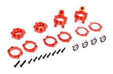 CNC Metal rear wheel bearing seat kit red For 1/5 hpi rovan km baja 5b 5t 5sc