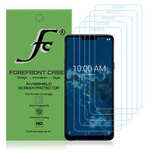 Lg G7 One Hydrogel Screen Protector [5 Pack] Guard Cover Film Hd Clear Thin
