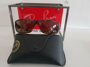 Nr.14 Ray Ban RB4057 Biker Style Sonnenbrille Top Zustand Havanna